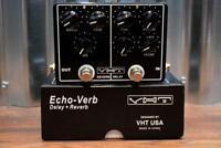 VHT Amplification AV-EV1 EchoVerb  Reverb & Delay Dual Guitar Effect Pedal