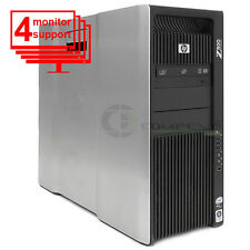 HP Z800 Workstation Intel 2x X5560 CPU 2.8GHz 24GB RAM 600GB SSD NVS 510  Win10