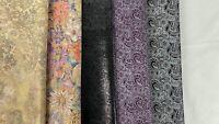 lb 2 Genuine lambskin leather scraps dark colors brown navy black 1-3oz mix two