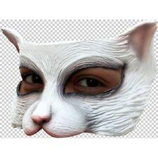 Kitten Cat Half Face Latex Mask Fancy Dress Halloween Adult