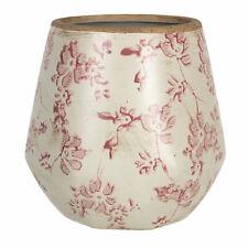 Blumenkasten Übertopf Pflanztopf Keramik Landhaus Shabby Vintage Clayre & Eef