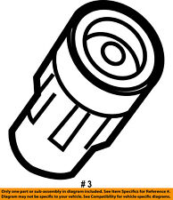 FORD OEM Ignition-Spark Plug Wire Boot BL3Z12A402A