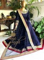 Indian Bollywood Ethnic Salwar Kameez Designer Anarkali Suit shalwar pakistani 1