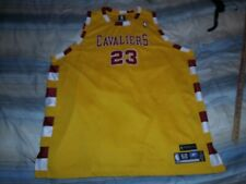 LEBRON JAMES #23 CLEVELAND CAVALIERS 1975-76 THROWBACK BASKETBALL JERSEY sz 60