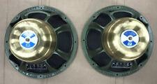 Vintage Pair Altec University Loudspeaker Woofer C15W Speakers Identical Pair
