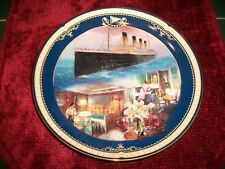 1999 Bradford Titanic Queen of the Ocean Plate 7th Issue First-Class Stateroom