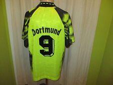 "Borussia Dortmund Nike Heim Trikot 1992/93 ""Die Continentale"" + Nr.9 Gr.L TOP"