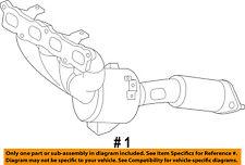 FORD OEM 11-18 Fiesta-Exhaust Manifold AE8Z5G232A