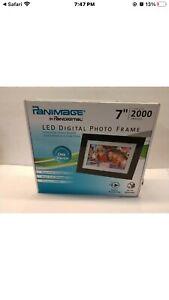 "Pandigital Panimage 7"" LED Digital Photo Frame K2"