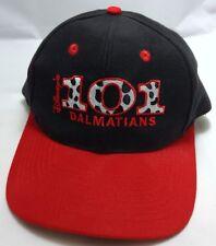 DISNEY'S 101 DALMATIANS snapback hat cap adjustable black red dog
