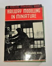 More details for railway modelling in miniature book by edward beal d10