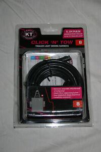 KT Click N Tow Box Trailer Light Wiring Harness (Harness # 8) - 6.1m - KT58043