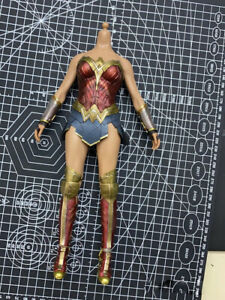 Hot Toys HT MMS451 1/6 Scale Wonder Woman 3.0 Outfits Action Figure Body 12in.