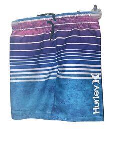 Hurley Boys Multicolor Bathing Suit Board Shorts 5/6