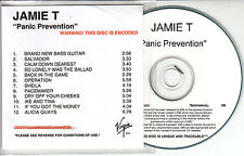 JAMIE T Panic Prevention 2007 UK 12-track watermarked & numbered promo test CD
