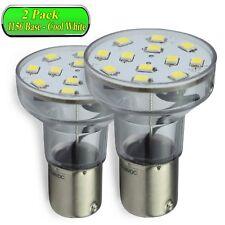 2 Pack Leisure Led Light Bulb Bayonet Rv 1156 1141 1383 2.1 Watt Cool White Long