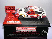 IXO ALTAYA 1/43 ALFA ROMEO GTV 2500 #40 500Km CIRCUITO JARAMA 1985 CARLOS SAINZ