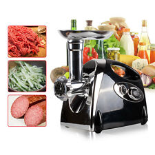 2800W Electric Meat Grinder Stainless Steel Mincer Sausage Maker/Filler Black