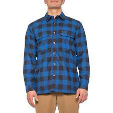 Simms ColdWeather Heavy Flannel Shirt - Long Sleeve - Rich Blue Buffalo Plaid