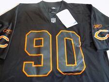 Chicago Bears Julius Peppers Black Reebok Rare Sample Jersey Sz L Free Shipping