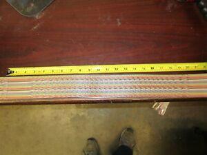 "Amphenol Twist'N'Flat 132-2801-050 50 Conductor 28 AWG Flat Com. Cable 20"" Piece"