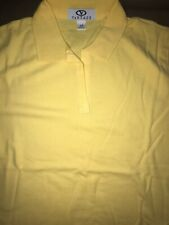 Vantage Xsmall Womens Golf Polo Yellow New