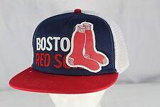 Boston Red Sox, Blue/White/Red MLB Baseball Cap  Snapback NWT