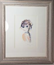 Shan - Merry Souveraine Seriolithograph Matted & Framed Signed/Numbered 3/75