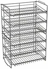 Food Pantry Organization Kitchen Shelves Storage Can Cabinet Wire Spice Rack USA