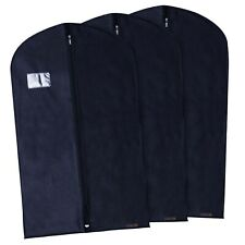 "Hangerworld™ 3 Blue 40"" Breathable Suit Covers Garment Clothes Protector Bags"