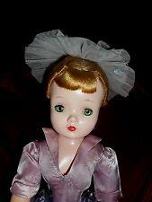 CISSY -VINTAGE 1950 Original Lavender Satin Coctail dress,skirts, hat, panties