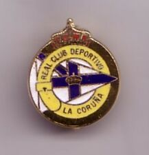 Deportivo La Coruna ( Spain ) - lapel badge brooch fitting