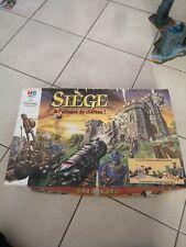 Rare jeu de societe SIEGE : A l'attaque du chateau MB en boite 1993 incomplet!!!