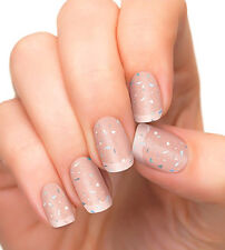Authentic Incoco Nail Polish 16 Double-Ended Strips - PRISMATIC TOP COAT