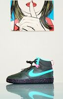 SZ 6.5Y NEW Nike Air Court Borough Mid 2 Boot GS Shoe Miami Vice BQ5440-300