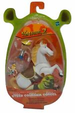 Shrek 2 Movie Noble Steed With Rearin' Up Action And Pinocchio By Hasbro (MOC)