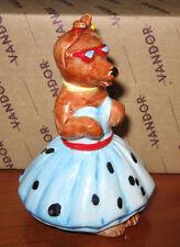 DACHSHUND S&P Weinie BABE 50s Glasses Salt & Pepper Weiner Dog Vandor 1992 MIB
