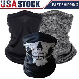 Face Mask Shield Elastic Bandana Fashion Cover Cooling Cycling Scarf Neck Gaiter