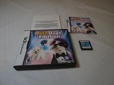 Petz: Dogz Fashion Nintendo DS 2008 dogs puppy Pets game everyone DSI lite NDS