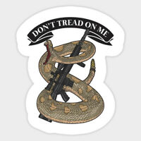 "car magnet Don't Tread on Me 2nd Amendment Gadsden NRA - MAGNET (4""* 5"")"