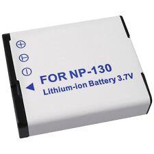 BATTERIA Li-Ion Tipo np-130 per Casio Exilim ex-h30 ex-zr100