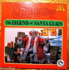 "McDonalds Santa Claus the Movie Vintage 1985 ""The Legand of Santa Claus"" FINE"