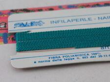 1infilaperle professionali verde giada lun180 cm con ago in rame 9 n°a scelta