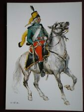 POSTCARD FRENCH REPUBLIC 1797 HUSSAR