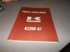 OEM Kawasaki 1978 KZ200 Parts Catalog 99997-683