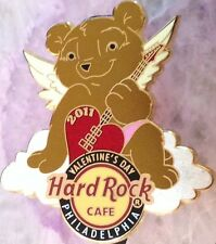 Hard Rock Cafe PHILADELPHIA 2011 VALENTINE'S DAY PIN Angel Bear - HRC #58973