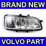 Volvo RH Mirror Repeater Indicator Light / Lens / Lamp C30 C70 S40 V50 S80 V70
