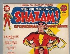 SHAZAM! Limited Collectors' Edition C-21   1973 Treasury Captain Marvel VF-