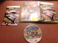 Microsoft Xbox 360 CIB Complete Tested Need for Speed Most Wanted 2005 Ships Fas