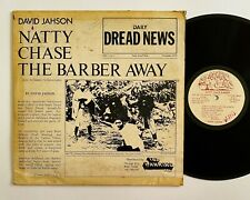 DAVID JAHSON Natty Chase The Barber TOP RANKING LP Rare Roots Reggae Dub